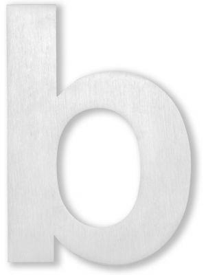 RVS 20cm Huisnummer Letter B