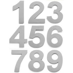 RVS Huisnummer 25cm