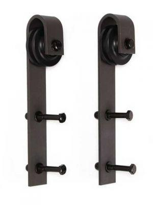 Set van 2 rollers voor schuifdeursysteem/barndoor/kastdeur/loftdeur