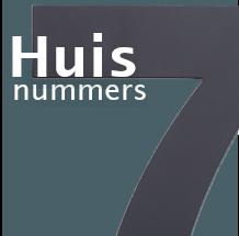 Link naar de webpagina waarop RVS huisnummers en Acrylaat huisnummers te bestellen ook met LED verlichting en in 3D