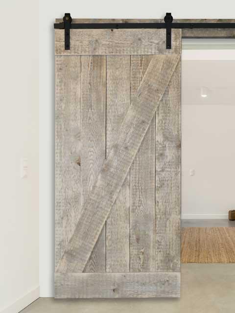 Kies je op maat gemaakte retro steigerhouten loftdeur